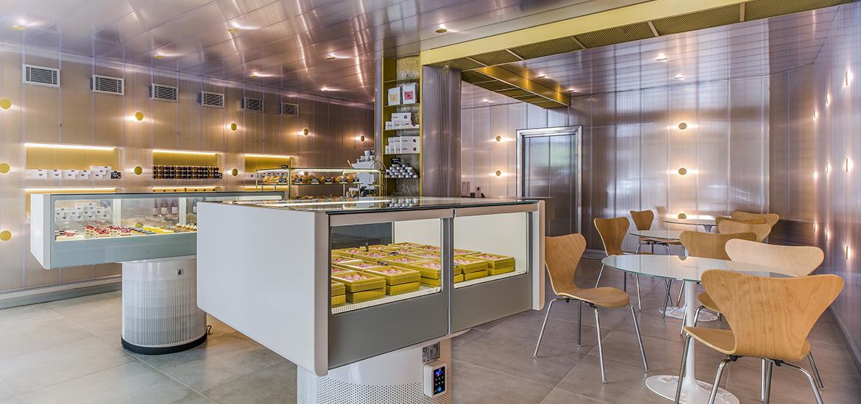 L' Atelier Barcelona, escuela y pastelería.