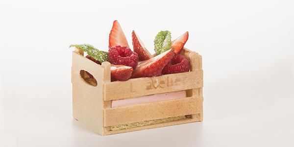 pastel individual, L' Atelier Barcelona, escuela y pastelería. Eric Ortuño